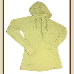Tangerine Activewear Top Half Zip Pullover Hoodie
